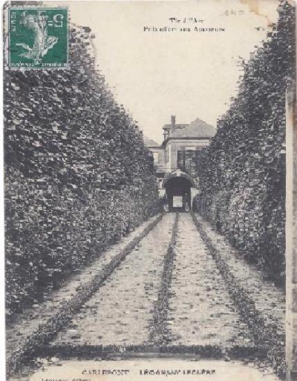 jeu d'arc bouquet 1902